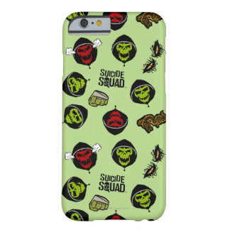 Suicide Squad | Killer Croc Emoji Pattern Barely There iPhone 6 Case