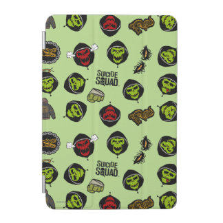 Suicide Squad | Killer Croc Emoji Pattern iPad Mini Cover