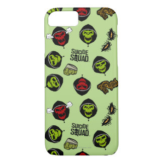 Suicide Squad | Killer Croc Emoji Pattern iPhone 8/7 Case