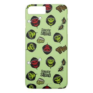 Suicide Squad | Killer Croc Emoji Pattern iPhone 8 Plus/7 Plus Case