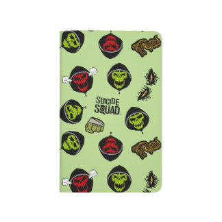 Suicide Squad | Killer Croc Emoji Pattern Journal