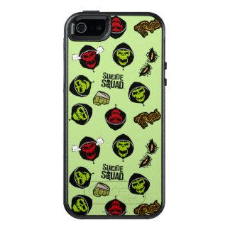 Suicide Squad | Killer Croc Emoji Pattern OtterBox iPhone 5/5s/SE Case