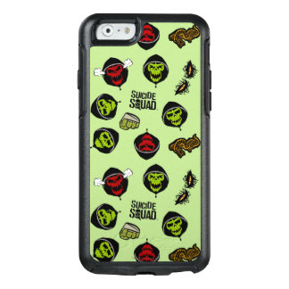 Suicide Squad | Killer Croc Emoji Pattern OtterBox iPhone 6/6s Case
