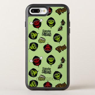 Suicide Squad | Killer Croc Emoji Pattern OtterBox Symmetry iPhone 8 Plus/7 Plus Case