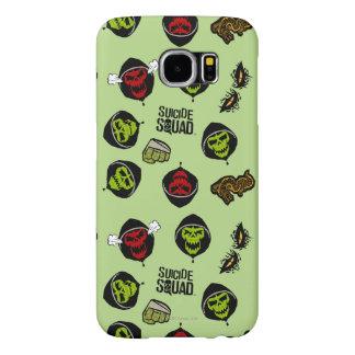 Suicide Squad | Killer Croc Emoji Pattern Samsung Galaxy S6 Cases