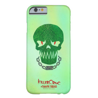 Suicide Squad | Killer Croc Head Icon Barely There iPhone 6 Case