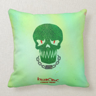 Suicide Squad | Killer Croc Head Icon Cushion
