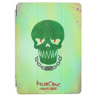 Suicide Squad | Killer Croc Head Icon iPad Air Cover