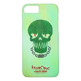 Suicide Squad   Killer Croc Head Icon iPhone 8/7 Case