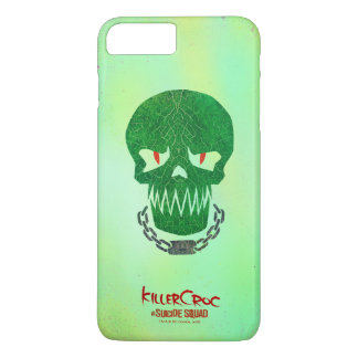 Suicide Squad | Killer Croc Head Icon iPhone 8 Plus/7 Plus Case