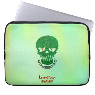 Suicide Squad | Killer Croc Head Icon Laptop Sleeve