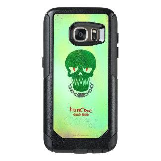 Suicide Squad | Killer Croc Head Icon OtterBox Samsung Galaxy S7 Case