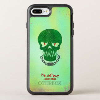 Suicide Squad | Killer Croc Head Icon OtterBox Symmetry iPhone 8 Plus/7 Plus Case