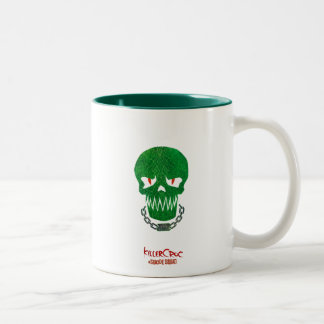 Suicide Squad | Killer Croc Head Icon Two-Tone Coffee Mug