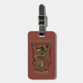 Suicide Squad | Killer Croc Tattoo Luggage Tag