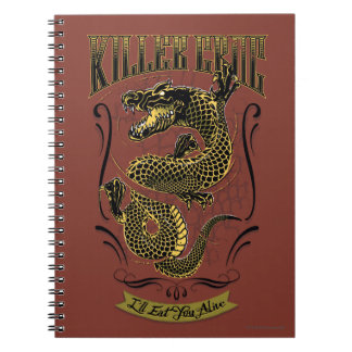 Suicide Squad | Killer Croc Tattoo Notebooks