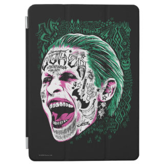 Suicide Squad | Laughing Joker Head Sketch iPad Air Cover
