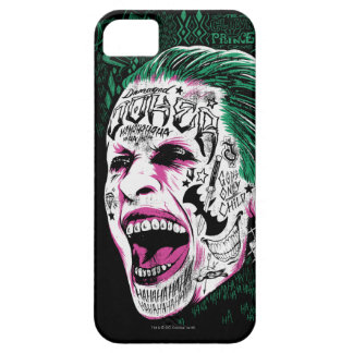 Suicide Squad | Laughing Joker Head Sketch iPhone 5 Case