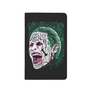 Suicide Squad | Laughing Joker Head Sketch Journal