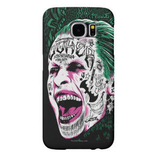 Suicide Squad | Laughing Joker Head Sketch Samsung Galaxy S6 Cases