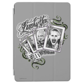 "Suicide Squad | ""Lucky You"" Playing Cards iPad Air Cover"