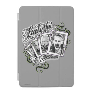 "Suicide Squad | ""Lucky You"" Playing Cards iPad Mini Cover"