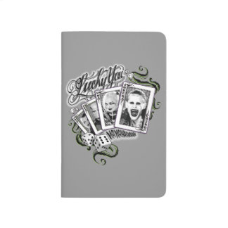 "Suicide Squad | ""Lucky You"" Playing Cards Journal"
