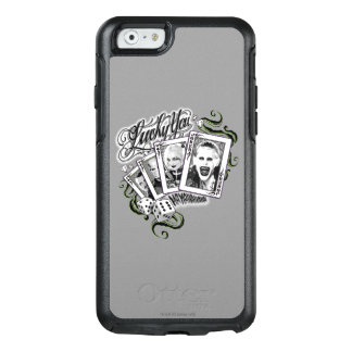 "Suicide Squad | ""Lucky You"" Playing Cards OtterBox iPhone 6/6s Case"