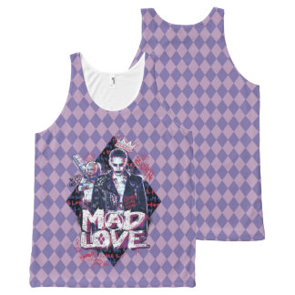 Suicide Squad | Mad Love 2 All-Over Print Tank Top