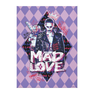 Suicide Squad | Mad Love Canvas Print