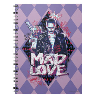 Suicide Squad | Mad Love Spiral Notebook