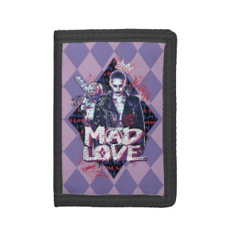 Suicide Squad | Mad Love Trifold Wallets