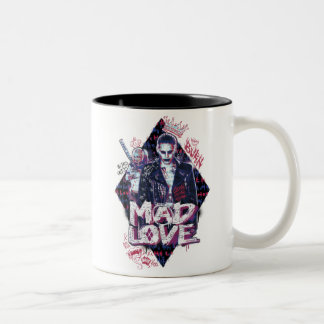 Suicide Squad | Mad Love Two-Tone Coffee Mug