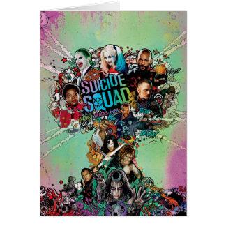 Suicide Squad   Mushroom Cloud Explosion Card