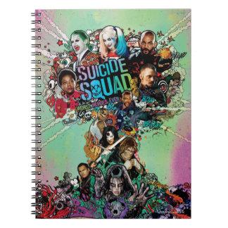 Suicide Squad | Mushroom Cloud Explosion Notebooks