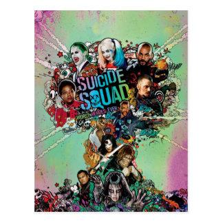 Suicide Squad | Mushroom Cloud Explosion Postcard