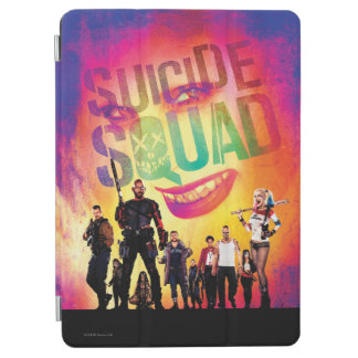 Suicide Squad | Orange Joker & Squad Movie Poster iPad Air Cover