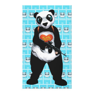Suicide Squad | Panda Canvas Print
