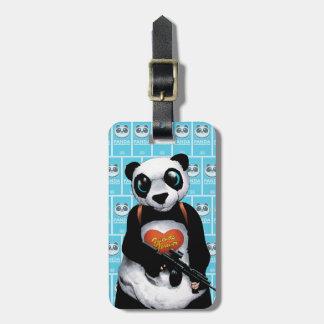Suicide Squad | Panda Luggage Tag