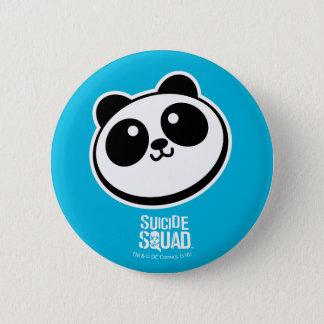 Suicide Squad | Panda Purveyors Logo 6 Cm Round Badge