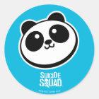 Suicide Squad | Panda Purveyors Logo Classic Round Sticker