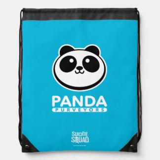 Suicide Squad | Panda Purveyors Logo Drawstring Bag