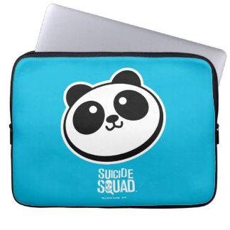 Suicide Squad | Panda Purveyors Logo Laptop Sleeve