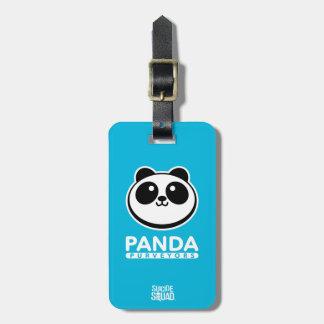 Suicide Squad | Panda Purveyors Logo Luggage Tag