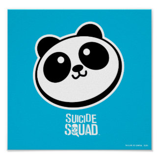 Suicide Squad | Panda Purveyors Logo Poster