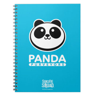 Suicide Squad | Panda Purveyors Logo Spiral Notebook