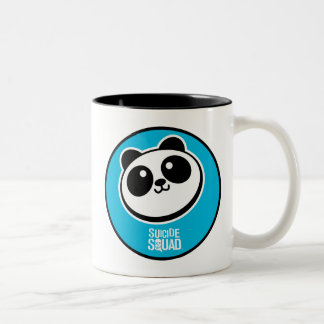 Suicide Squad | Panda Purveyors Logo Two-Tone Coffee Mug