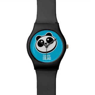 Suicide Squad   Panda Purveyors Logo Wristwatches