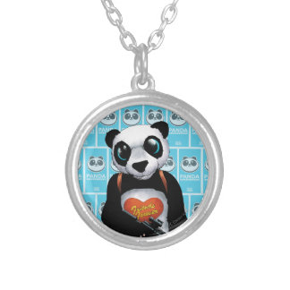 Suicide Squad | Panda Silver Plated Necklace