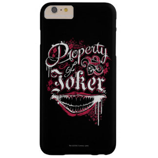 Suicide Squad | Property of Joker Barely There iPhone 6 Plus Case